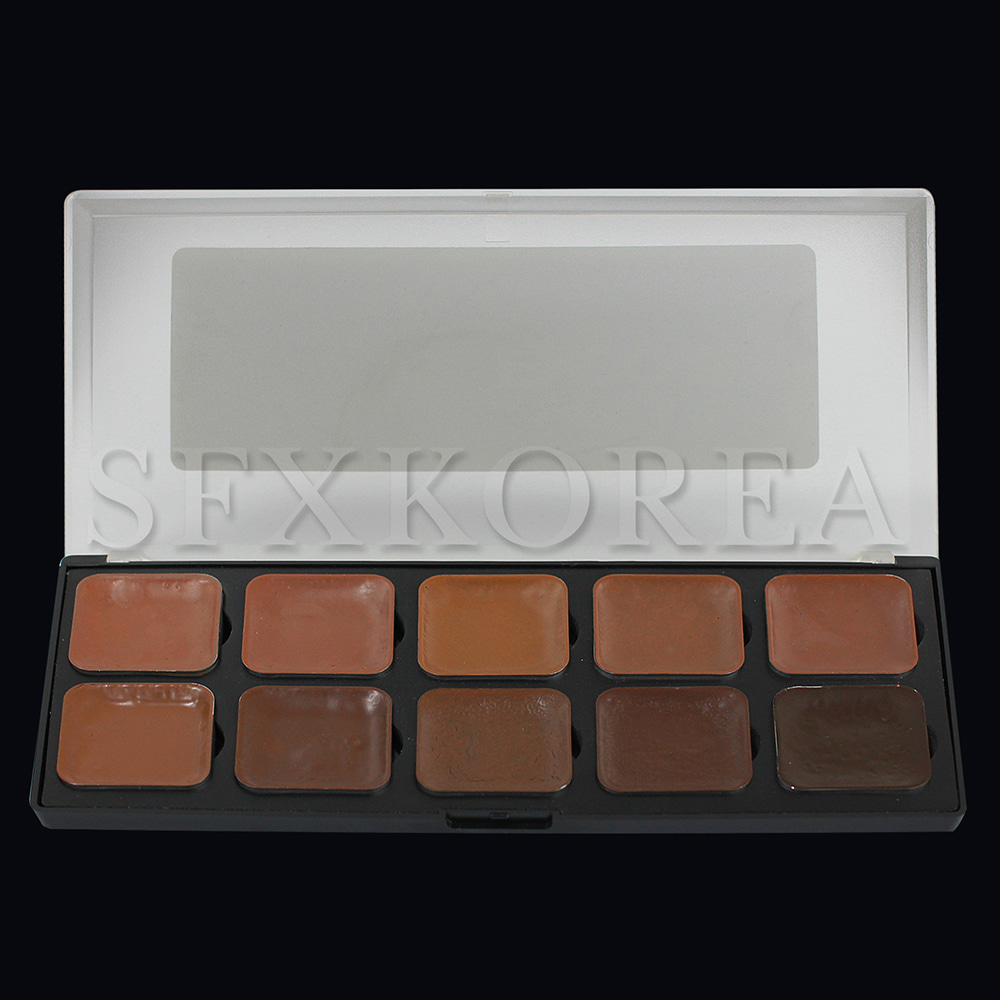 EBA.알콜팔레트(Alcohol Palette)_Skin tone_Deep Dark